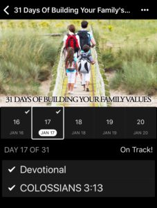 31 Days of Building Family Values